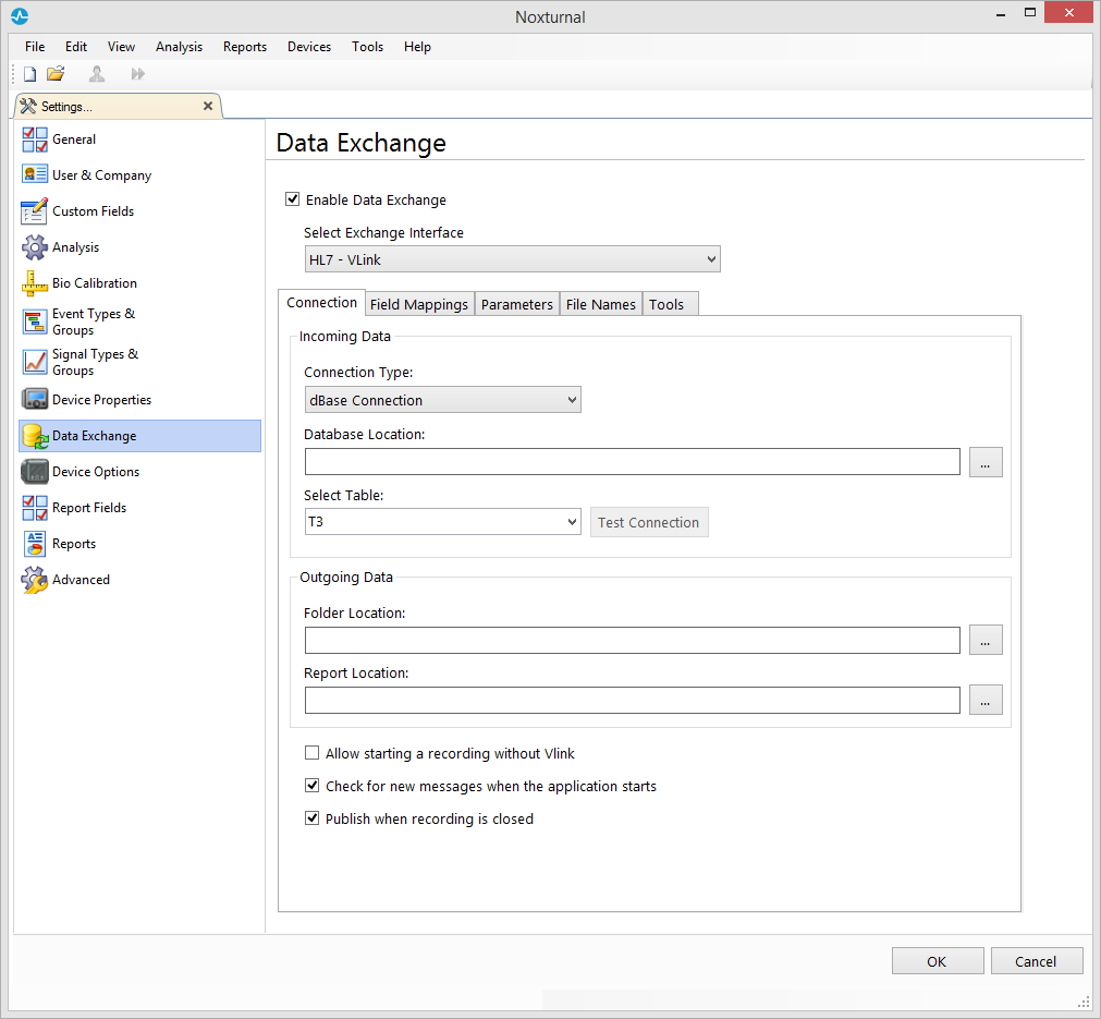 Noxturnal HL7 / VLink Interface Manual – Nox Support