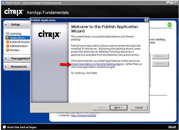 Noxturnal and Citrix XenApp Fundamentals – Nox Support