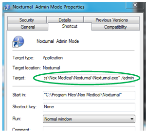 User Settings and Centralized Settings (Noxturnal 4 and 5) – Nox Support